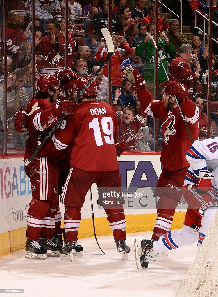 New York Rangers v Arizona Coyotes : News Photo