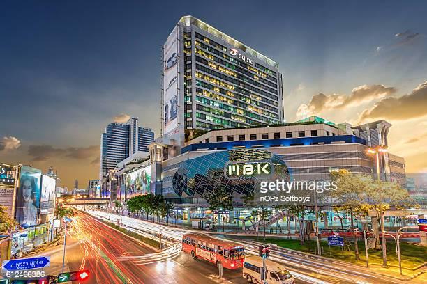 mbk center at bangkok - nopz stock pictures, royalty-free photos & images