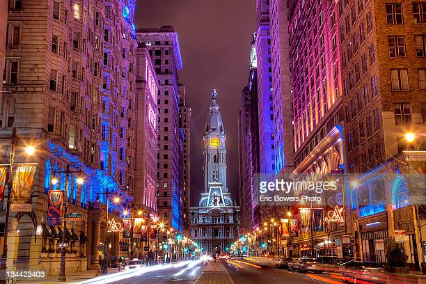 center city philadelphia - philadelphia pennsylvania stock pictures, royalty-free photos & images
