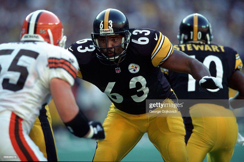 Steelers Dermontti Dawson : News Photo