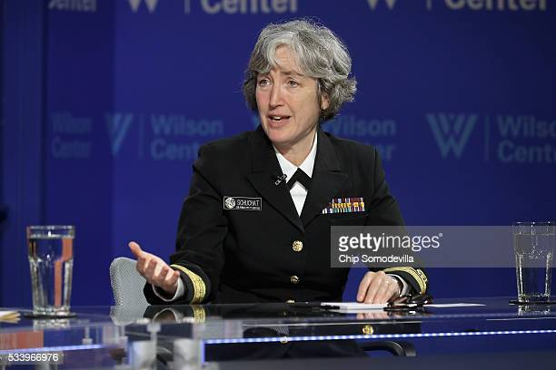Center for Disease Control and Prevention Principal Deputy Director Rear Adm Anne Schuchat participates in a discussion on 'Zika in the US Can We...