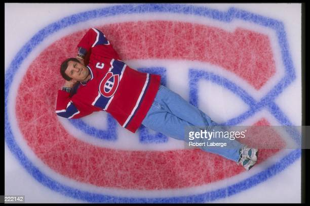 Center Guy Carbonneau of the Montreal Canadiens Mandatory Credit Robert Laberge /Allsport