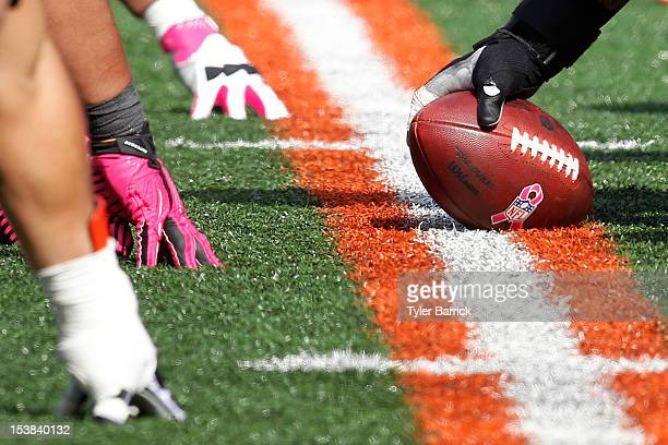Center Jeff Faine #62 of the Cincinnati Bengals prepares to snap the football during the game against the Miami Dolphins at Paul Brown Stadium on...