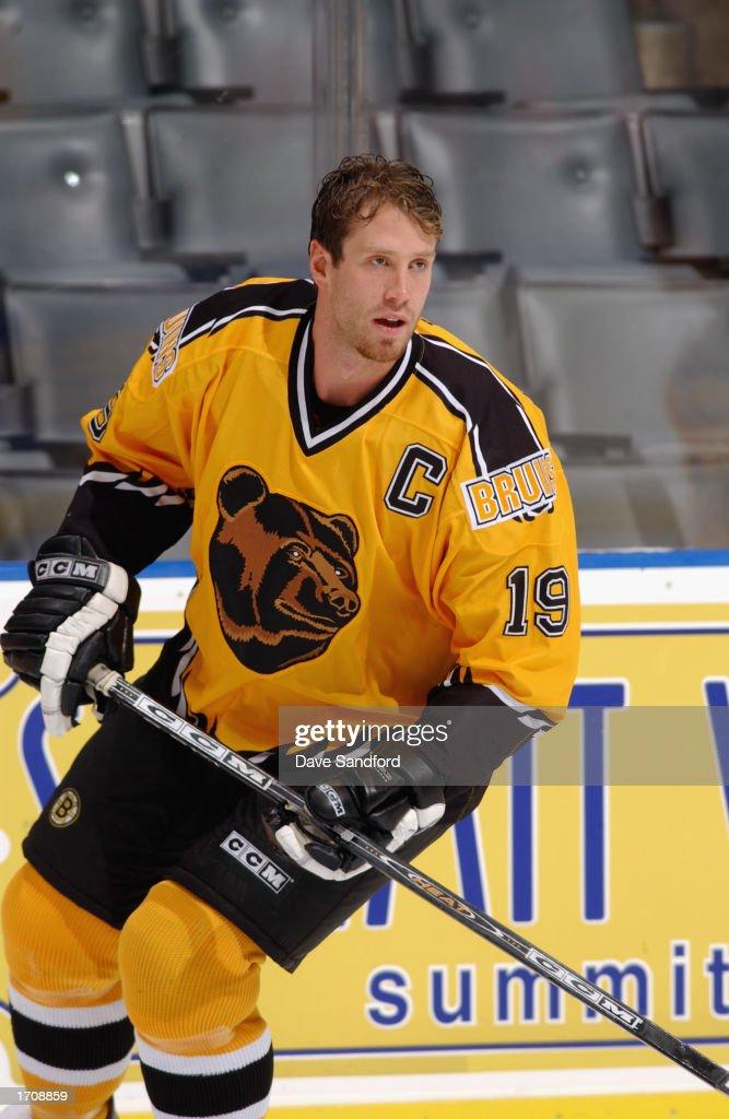 low priced dec2c 194c5 Center Joe Thornton of the Boston Bruins skates in warm-ups ...