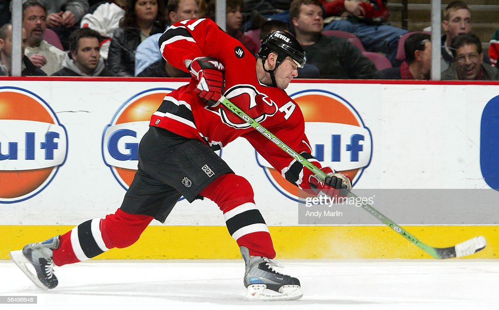 best loved a9e38 c6851 Center John Madden of the New Jersey Devils takes a hard ...