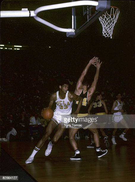 Center Lew Alcindor of the UCLA Bruins