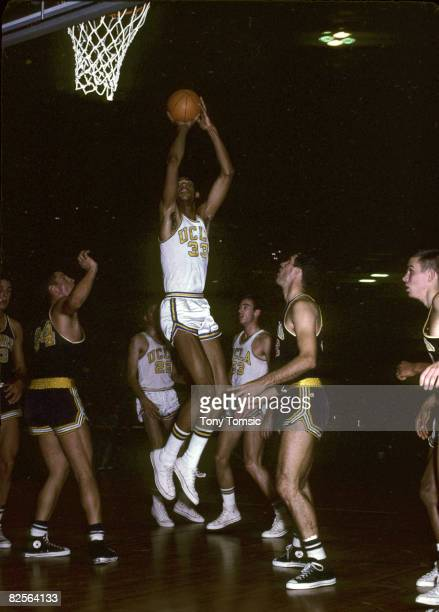 Center Lew Alcindor of the UCLA Bruins