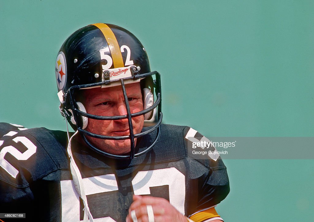 Steelers Mike Webster : News Photo
