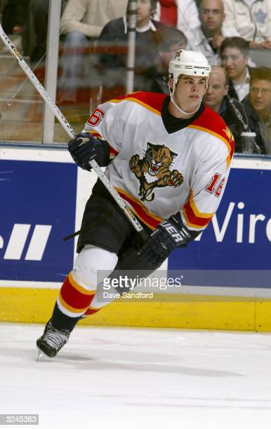Center Nathan Horton of the Florida Panthers skates on the ice during the game against the Toronto Maple Leafs at Air Canada Centre on March 9 2004...