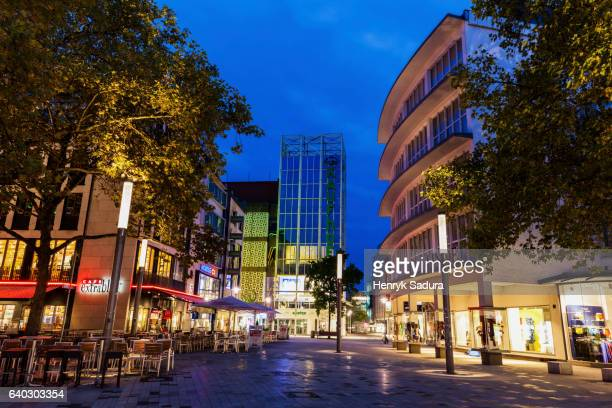 center of hanover architecture - hanover germany stock pictures, royalty-free photos & images