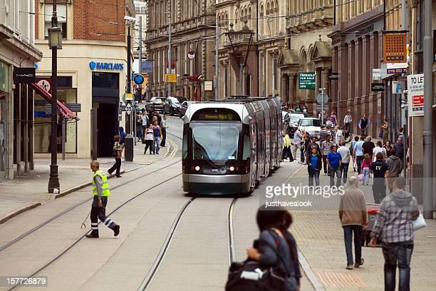 Zentrum von Nottingham