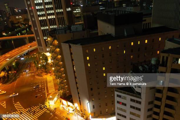 Center of Osaka city