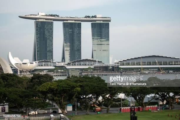 Center of Singapore city