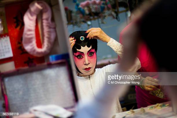 center piece - chinese opera stock photos and pictures