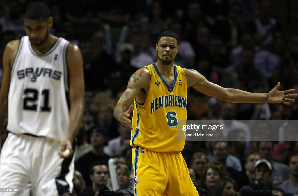 New Orleans Hornets v San Antonio Spurs, Game 6
