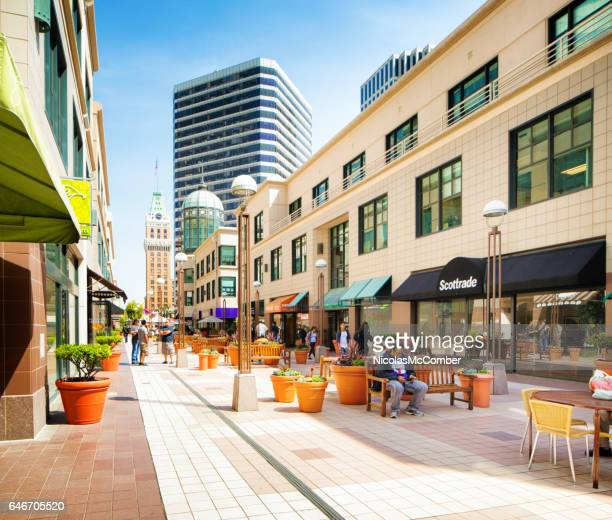 center walk in oakland california - oakland california stock pictures, royalty-free photos & images