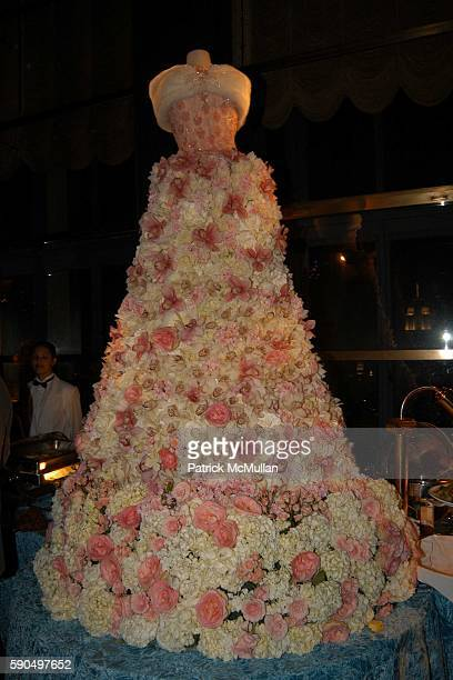 Centerpiece at Preston Bailey Event Designer for the Wedding of Donald Trump and Melania Knauss Celebrates the Publication of his Book Fantasy...
