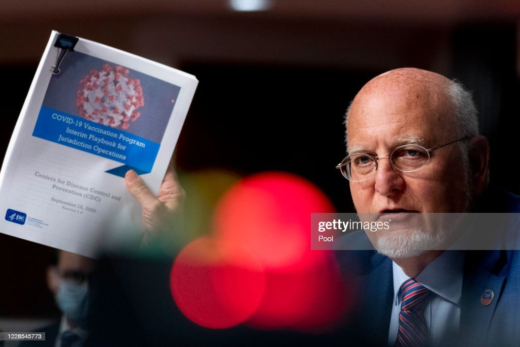 Senate Appropriations Committee Holds Hearing On Response By HHS To Coroanavirus Pandemic : News Photo