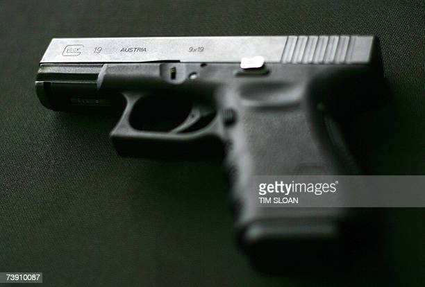 A Glock 9MM pistol which according to media reports is similar to one of the weapons used by 23yearold South Korean student Cho SeungHui in the...