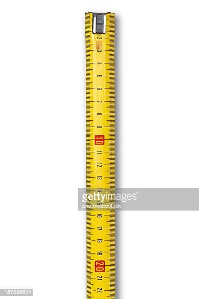 Centímetro de fita Mesure (a caminhos de corte