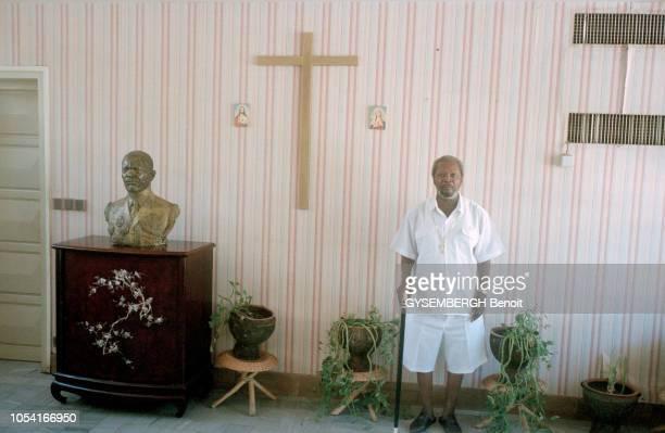 Centrafrique 26 mai 1996 Mutinerie d'une partie de l'armée centrafricaine à Bangui Après huit jours d'insurrection le président Patassé a accepté...