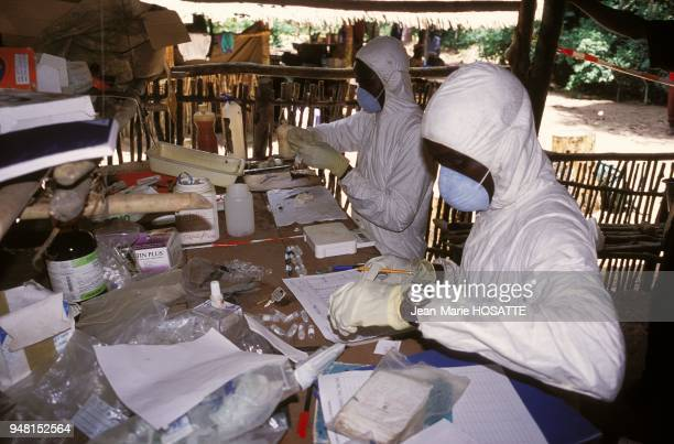 Central African Republic laboratory in the forest