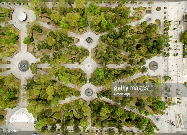 central alameda park, mexico city - mexico city aerial stock pictures, royalty-free photos & images