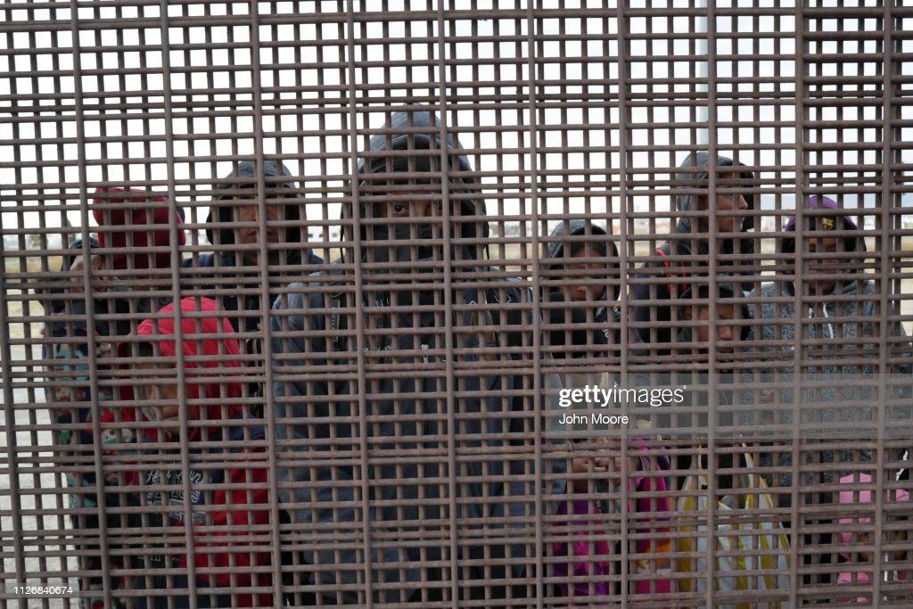 U.S. Customs And Border Patrol Agents Patrol Border In El Paso, TX : News Photo