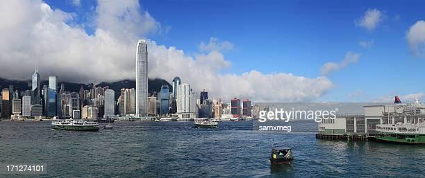 セントラル、香港 habour