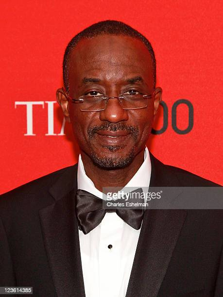 Central Bank of Nigeria' Lamido Sanusi attends the 2011 TIME 100 gala at Frederick P Rose Hall Jazz at Lincoln Center on April 26 2011 in New York...