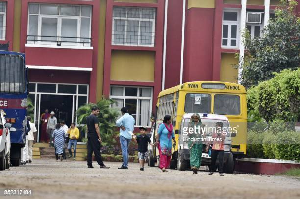 Central Bureau of Investigation begins investigations into the murder of an 8yearold student at the Ryan International School on September 23 2017 in...
