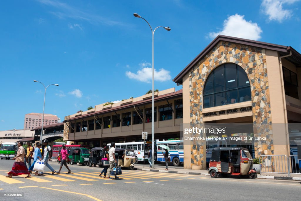 Galle central bus terminal