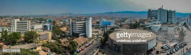 central business district ibadan - nigeria photos et images de collection