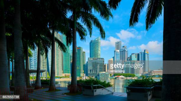 Central Business District in Marina Bay, Singapore