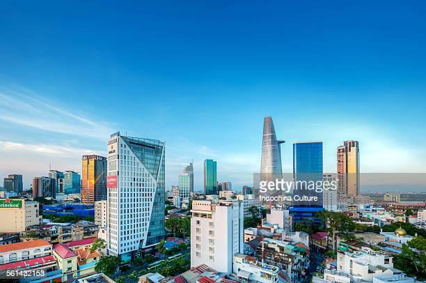 Central Business District of Ho Chi Minh city