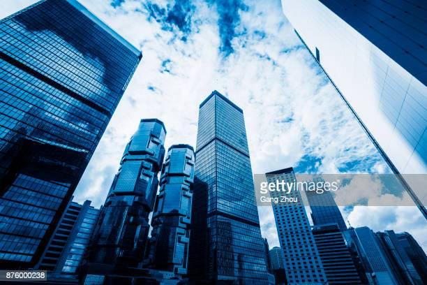 香港のセントラル ビジネス地区