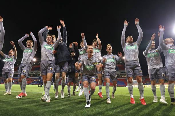 AUS: A-League - Newcastle v Central Coast