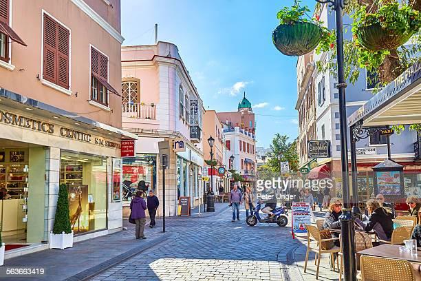 Central Gibraltar shopping street, Gibraltar