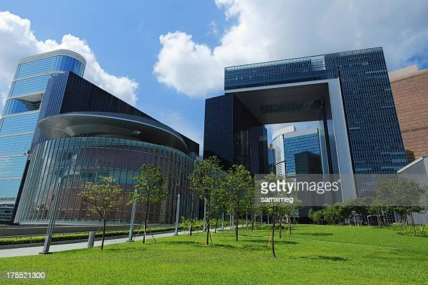 central government complex hong kong - china politics stock pictures, royalty-free photos & images