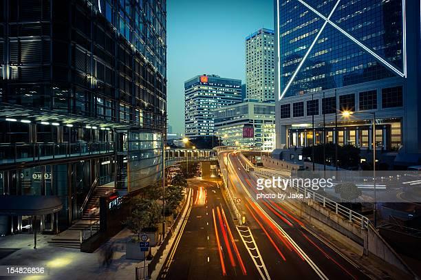 Central Hong Hong Nightview