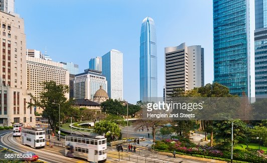 Central Hong Kong Business District Chater Garden And ...
