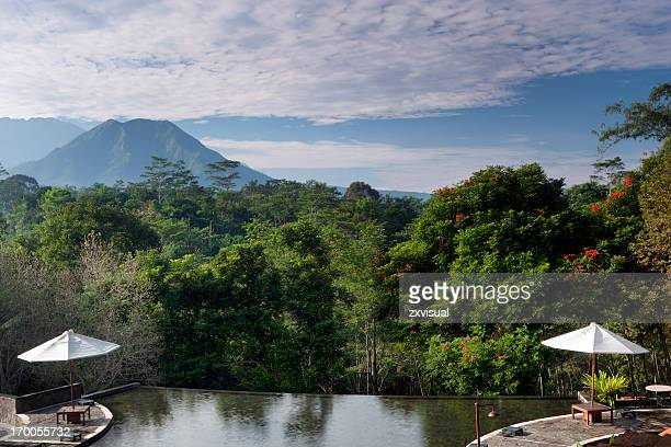 central java resort in indonesia - java stock pictures, royalty-free photos & images