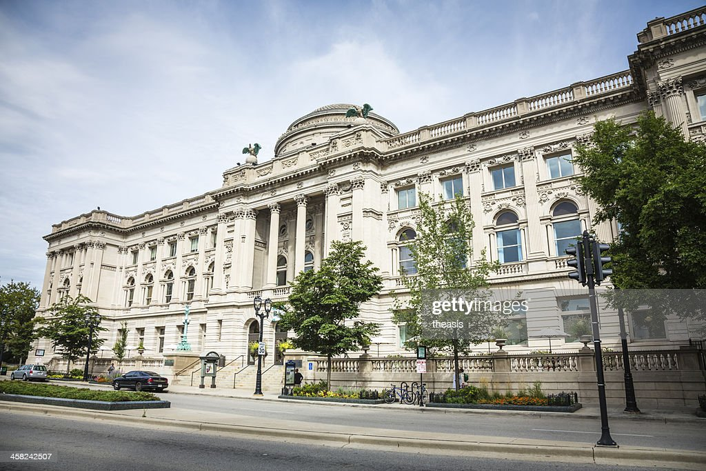 Central Library, Milwaukee : Stock Photo