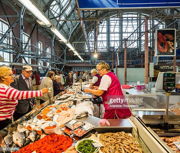 Central market, a fishmonger