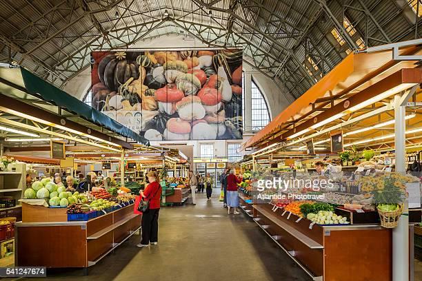 Central market, a greengrocer