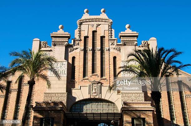 Central Market dating from 1921, Alicante, Valencia province, Spain, Europe