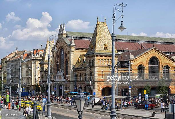 central market of budapest - emreturanphoto stock pictures, royalty-free photos & images