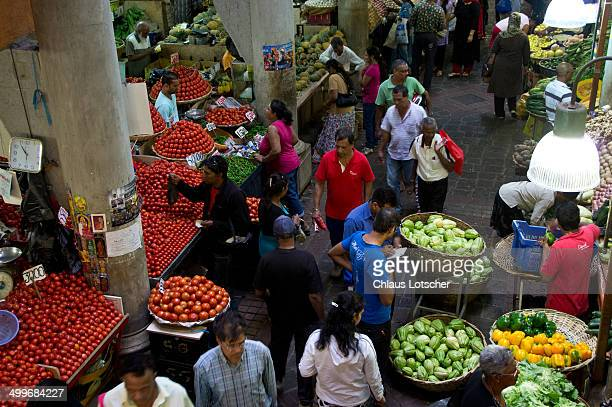 central market, port louis, mauritius - port louis stock photos and pictures