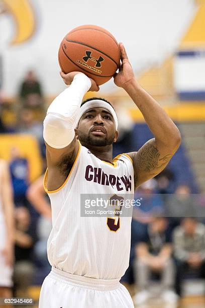 Central Michigan Chippewas G Marcus Keene at the foul line during overtime of the college men's basketball game between the Central Michigan...