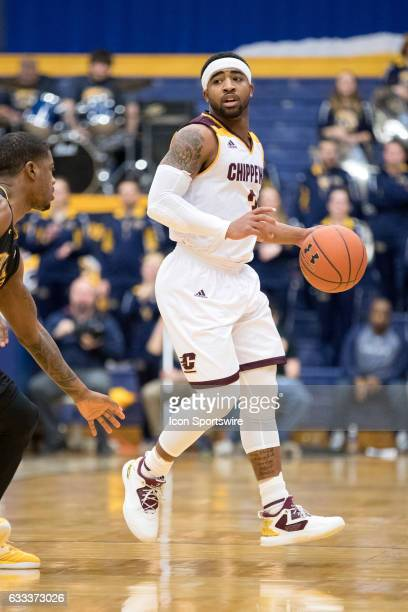 Central Michigan Chippewas G Marcus Keene with the basketball during the first half of the men's college basketball game between the Central Michigan...